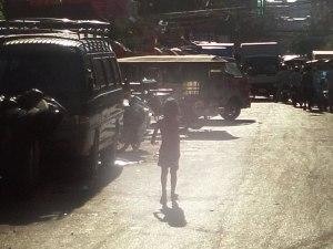 Kind in Phnom Penh. (Foto: Sören Peters)