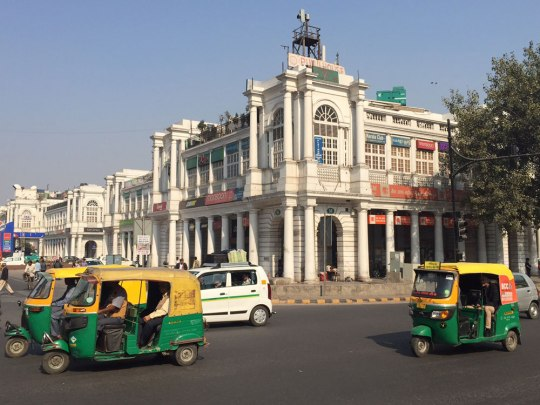 Am Connaught Place. (Foto: Sören Peters)
