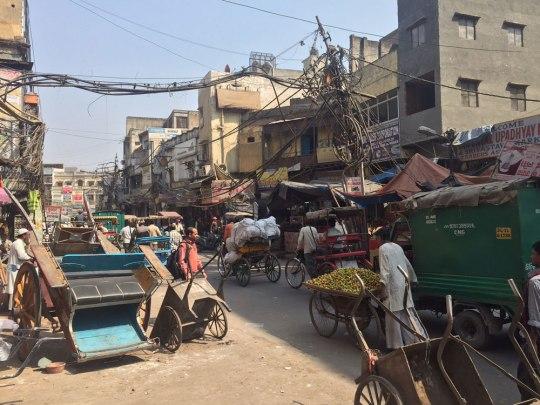 Unterwegs vom Ajmeri Gate zur Jama Masjid. (Foto: Sören Peters)