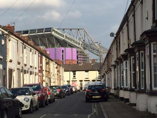 In Anfield. (Foto: Sören Peters)