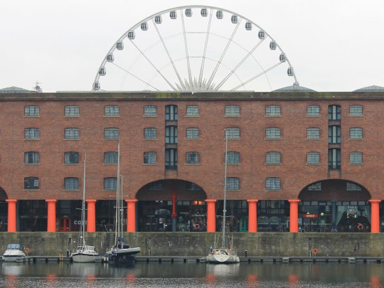 Docks am Mersey. (Foto: Sören Peters)