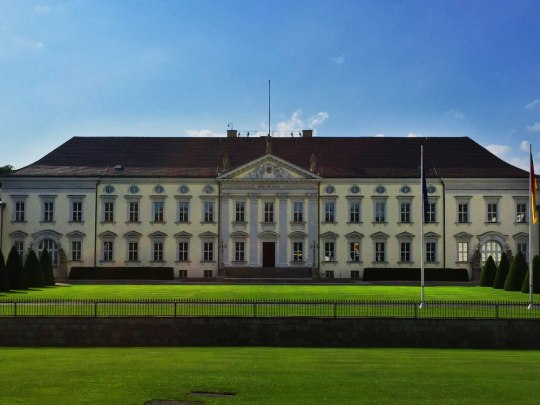 Schloss Bellevue: Hello, Mr. President! (Foto: Sören Peters)