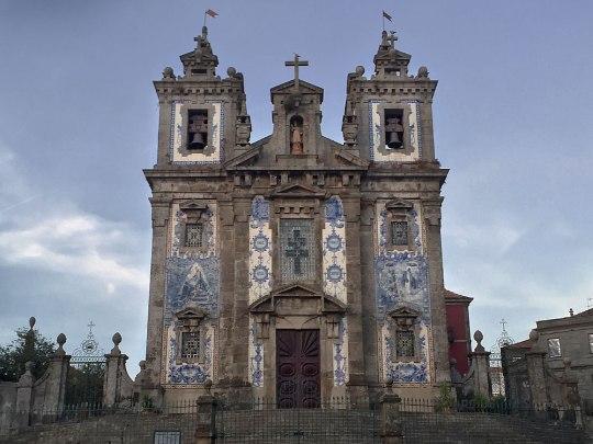 Igreja Ildefonso im Stadtzentrum Portos. (Foto: Sören Peters)