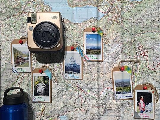 Die Sofortbild-Kamera instax von Fujifilm. (Foto: Sören Peters)